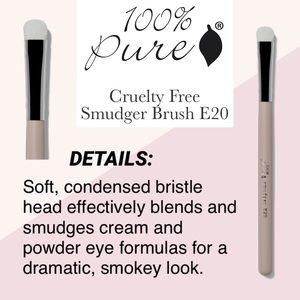 100% PURE: Smudger Brush E20